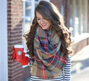 Blanket Scarf Style: 6 Outfits We Love