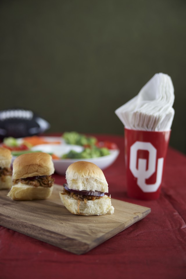 Mini BBQ Sandwiches For Game Day!