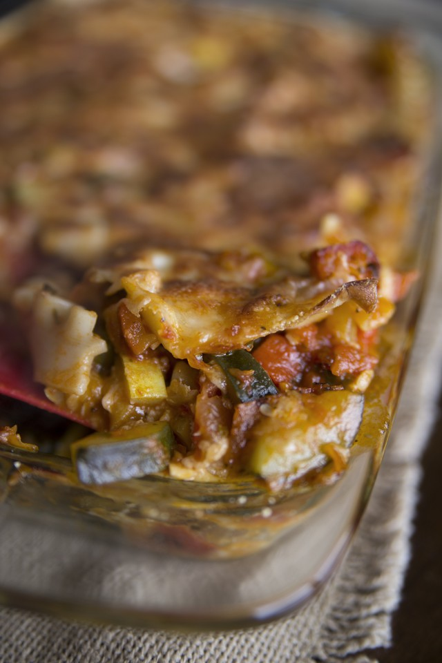 The Most Amazing Veggie Lasagna Recipe!