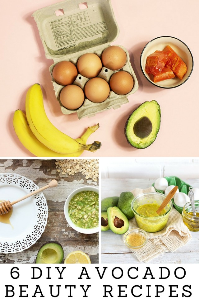 6 Avocado Beauty Recipes