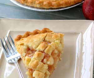 Pear Pie With Caramel Sauce