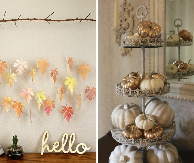 fall decor thanksgiving