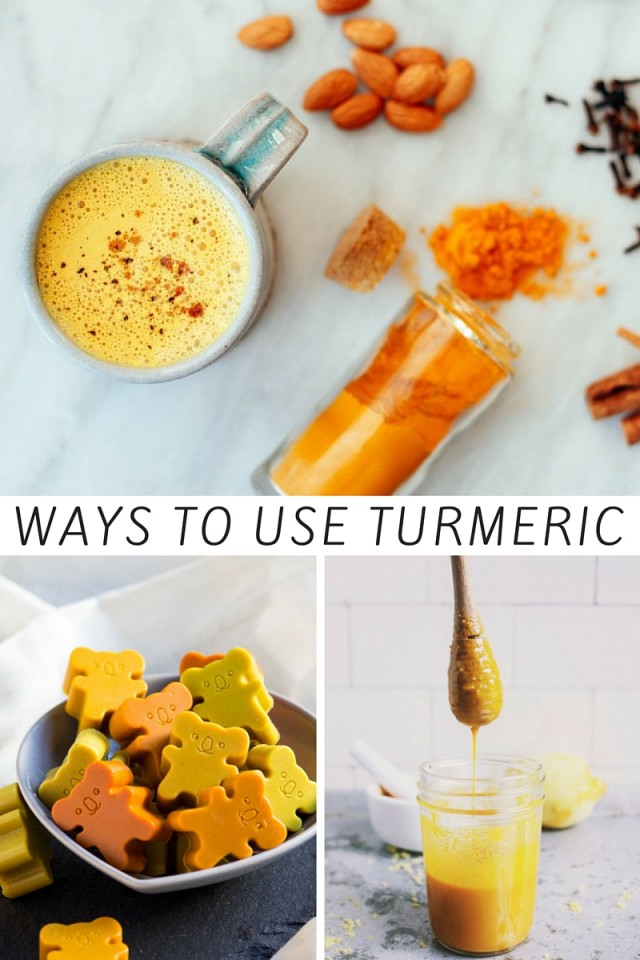 Ways To Use Turmeric