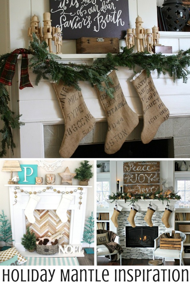 Holiday Mantle Inspiration