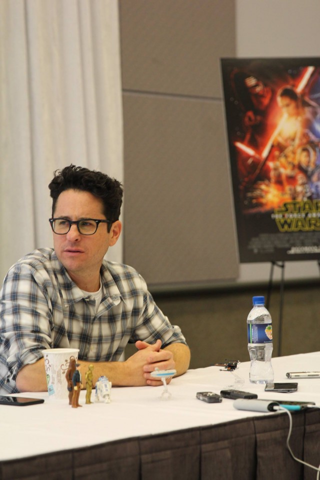 J.J. Abrams Shares How BB-8 Was Created