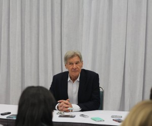 Interview With Harrison Ford Star Wars: The Force Awakens