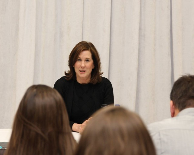 President Of Lucasfilm Kathleen Kennedy Shares Experiences With George Lucas