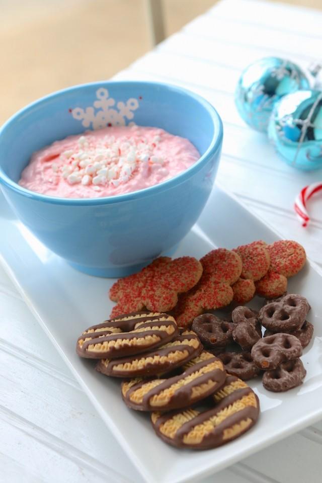 Peppermint Snowflake Dip
