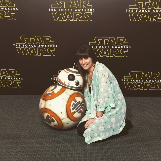 Star Wars: The Force Awakens Press Junket Event - BB-8