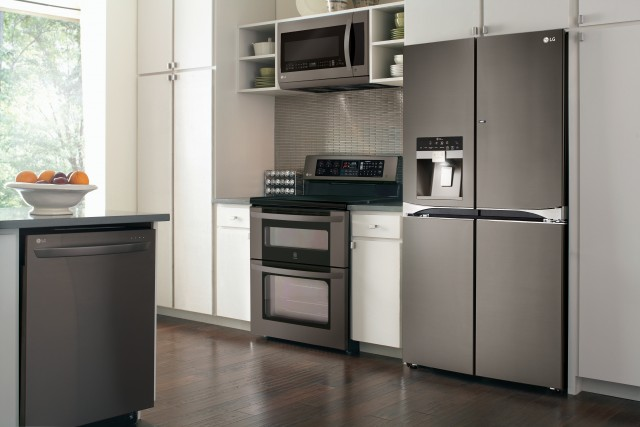LG Black Stainless Steel Series - Lifestyle Image #1