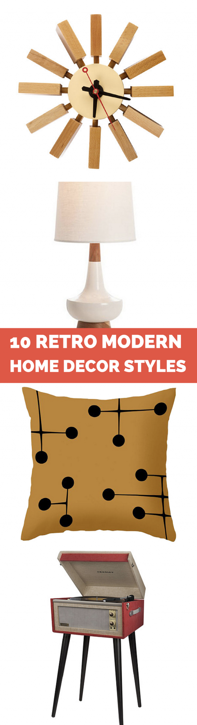 Retro Modern Home Decor