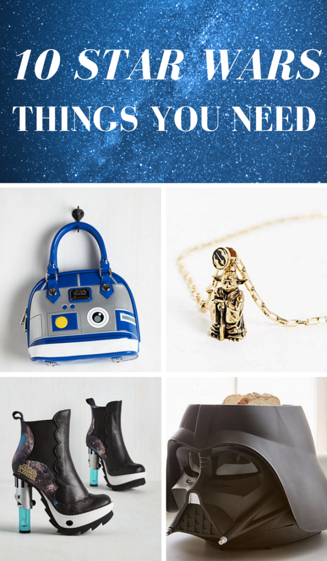 10 Star Wars Things You Need