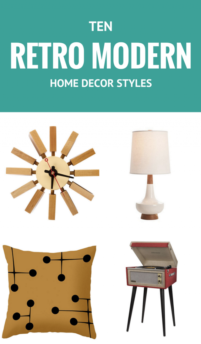 10 Retro Modern Home Decor Styles