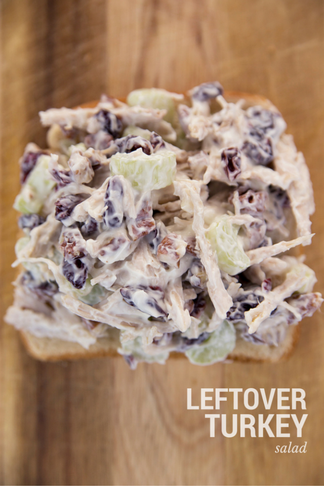 Holiday Leftover Turkey Salad Recipe