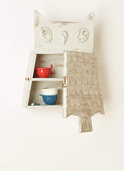 Owl Cabinet