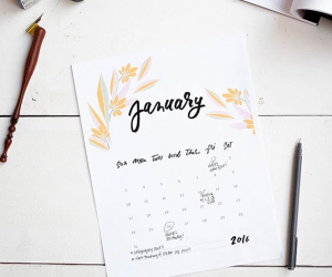 Free Printable Calendars For 2016