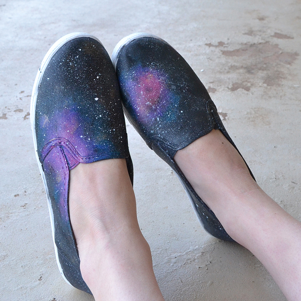 Galaxy Sneaker Craft