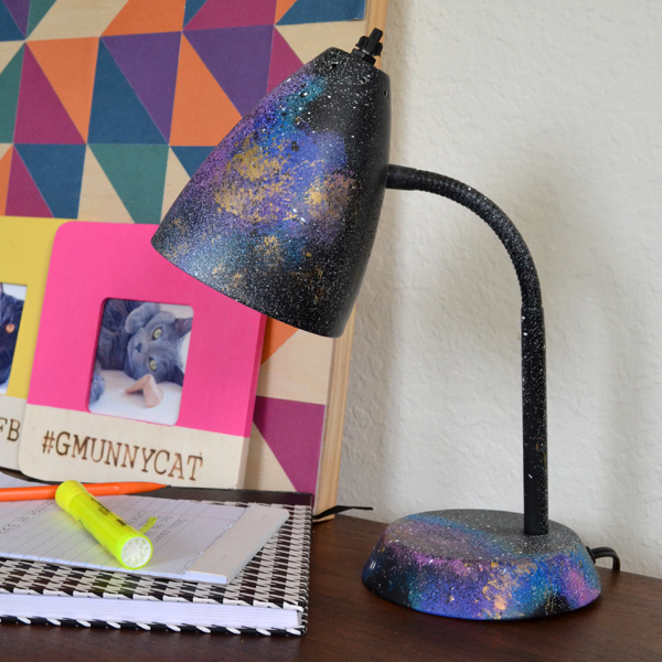Galaxy Desk Lamp DIY