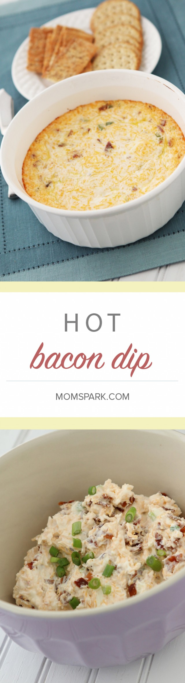 Hot Bacon Dip Recipe - Perfect for Game Day