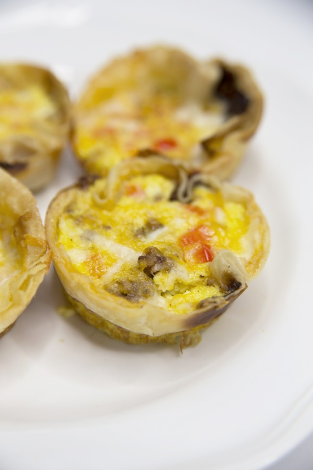 Easy Tortilla Breakfast Cups