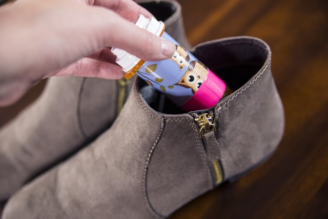 Genius Hacks for Packing Your Carry-On Suitcase - Use shoes as storage.  Shoes typically take up a ton of space in a suitcase/carry-on, so use ever inch inside of them to store things!