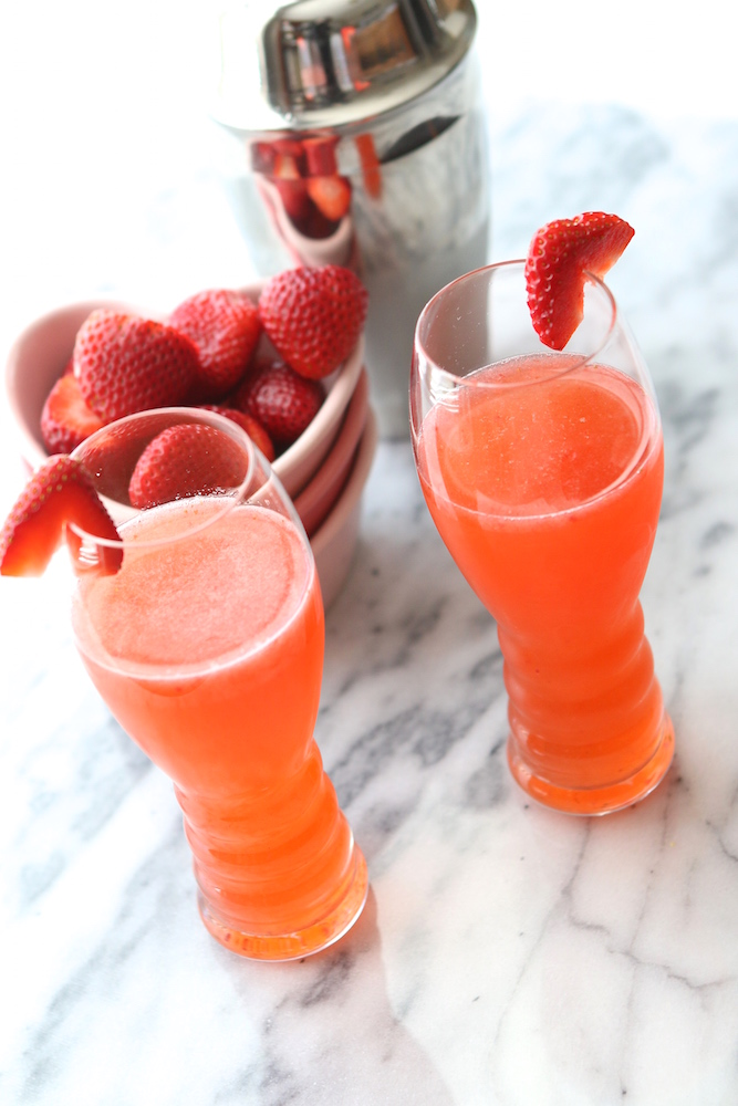 Strawberry Valentine Cocktail
