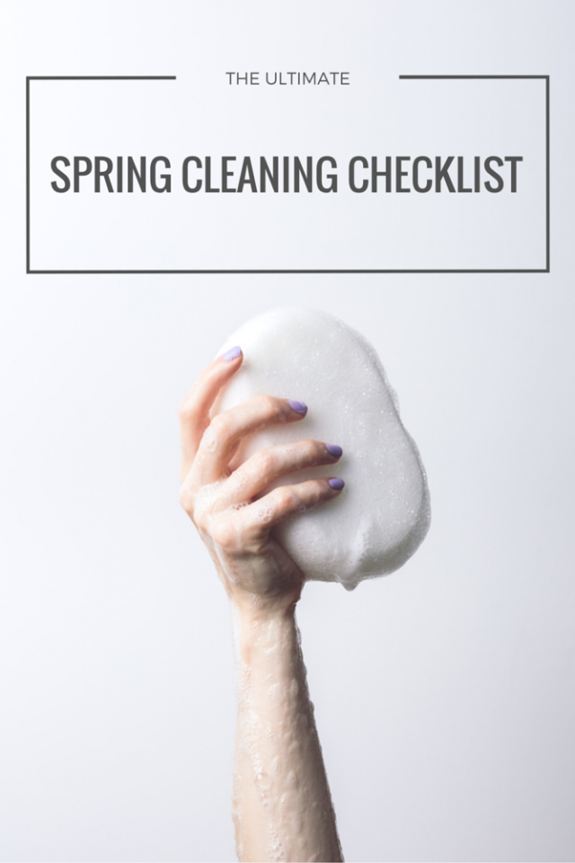 The Ultimate Spring Cleaning Checklist Printable Mom