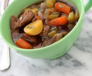 Slow Cooker Irish Stew