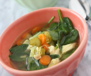 Ginger Chicken Detox Soup