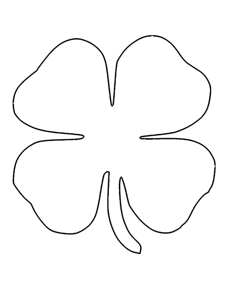 Big Shamrock Printables Images - Reverse Search
