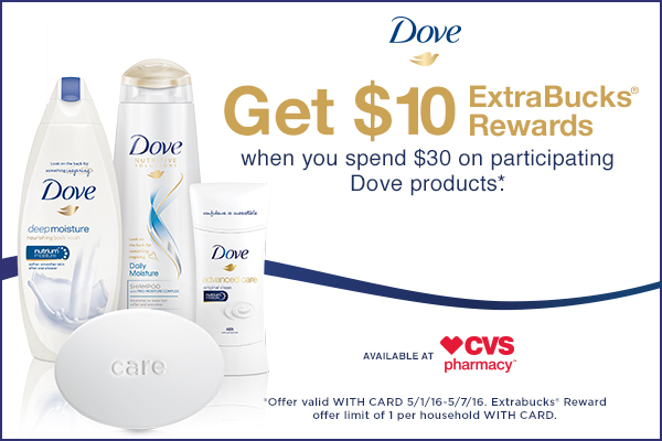 Mother's Day Deals on Dove from CVS