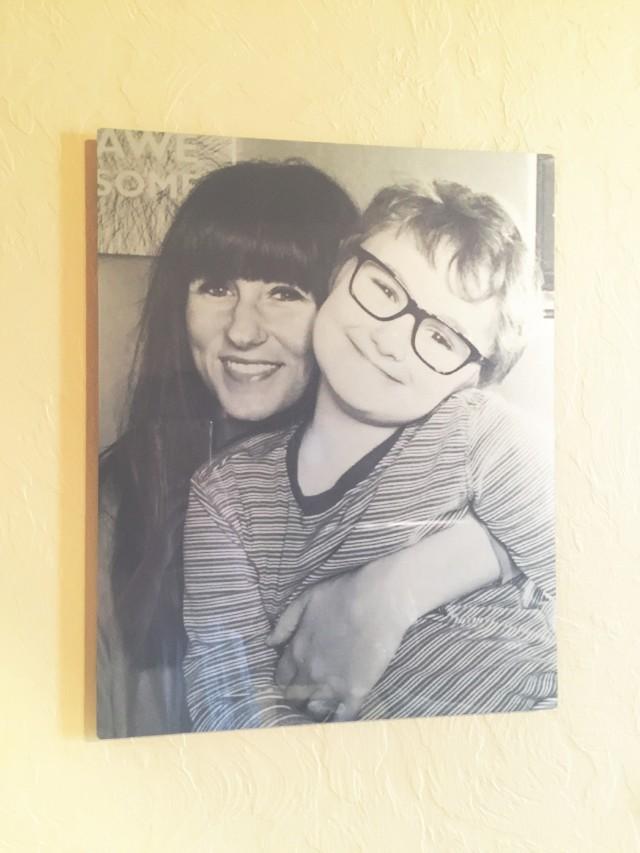 How to Create Family Photo Wall Art