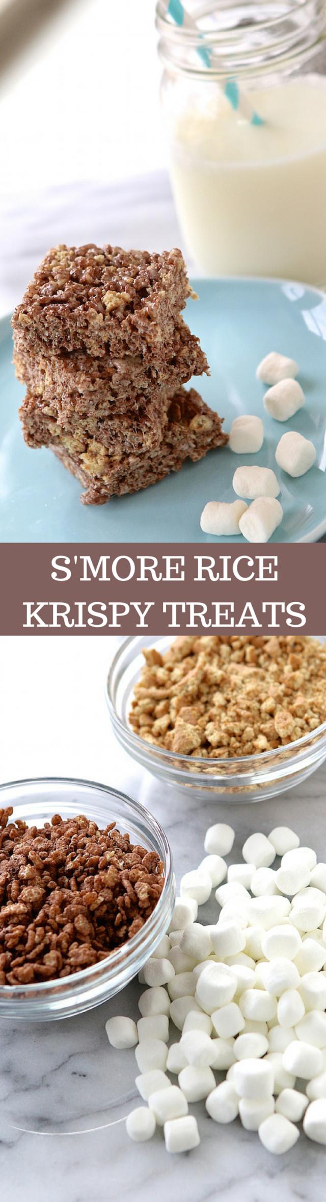 S'more Rice Krispy Treats Recipe