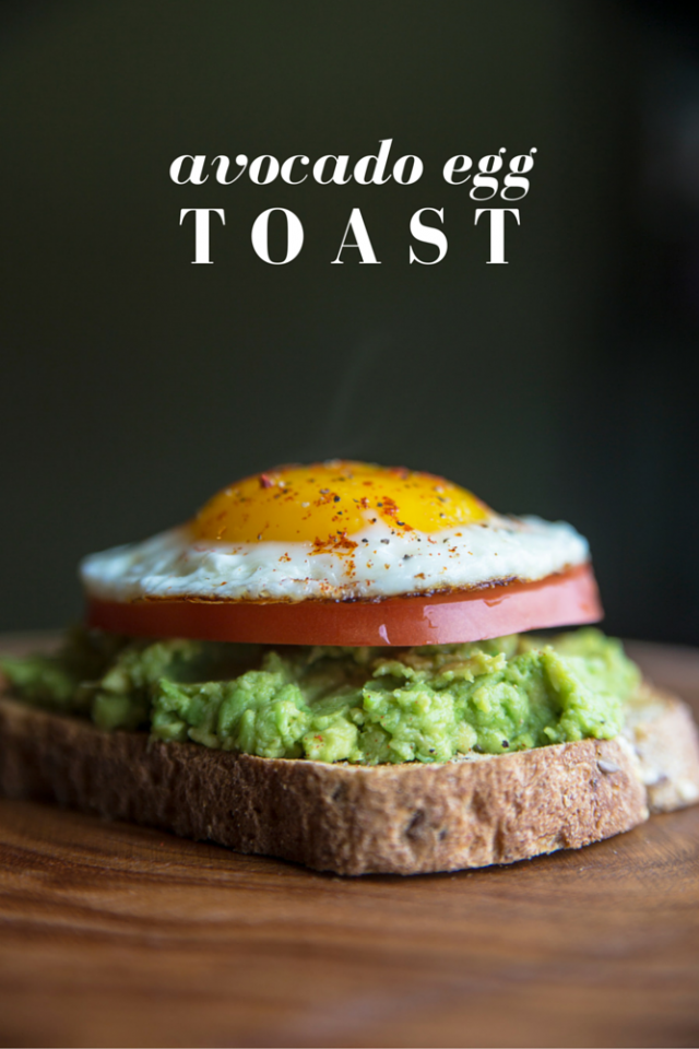 Egg, Avocado, & Tomato Toast Recipe
