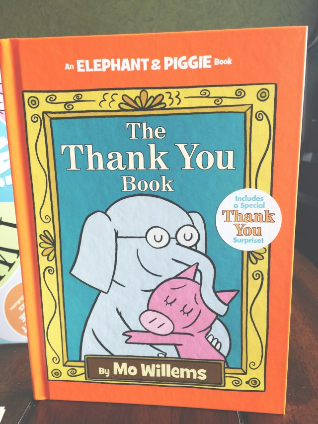 "Celebrating ""The Thank You Book"" by Mo Willems"