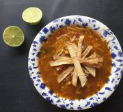 Easy Cheesy Chicken Tortilla Soup