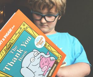 """Celebrating """"The Thank You Book"""" by Mo Willems"""