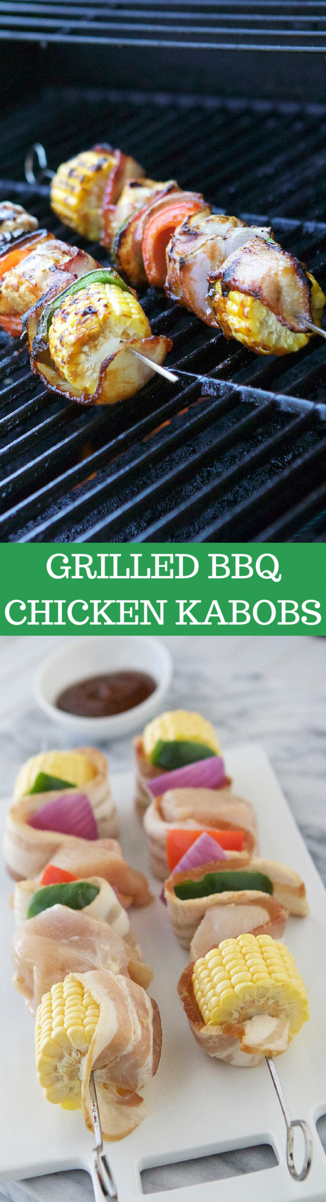 Grilled Barbecue Chicken Kabobs Recipe