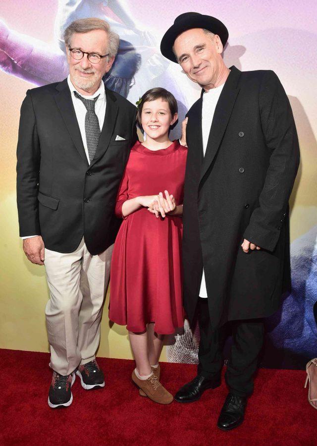 Steven Spielberg, Mark Rylance, Ruby Barnhill on The BFG Red Carpet