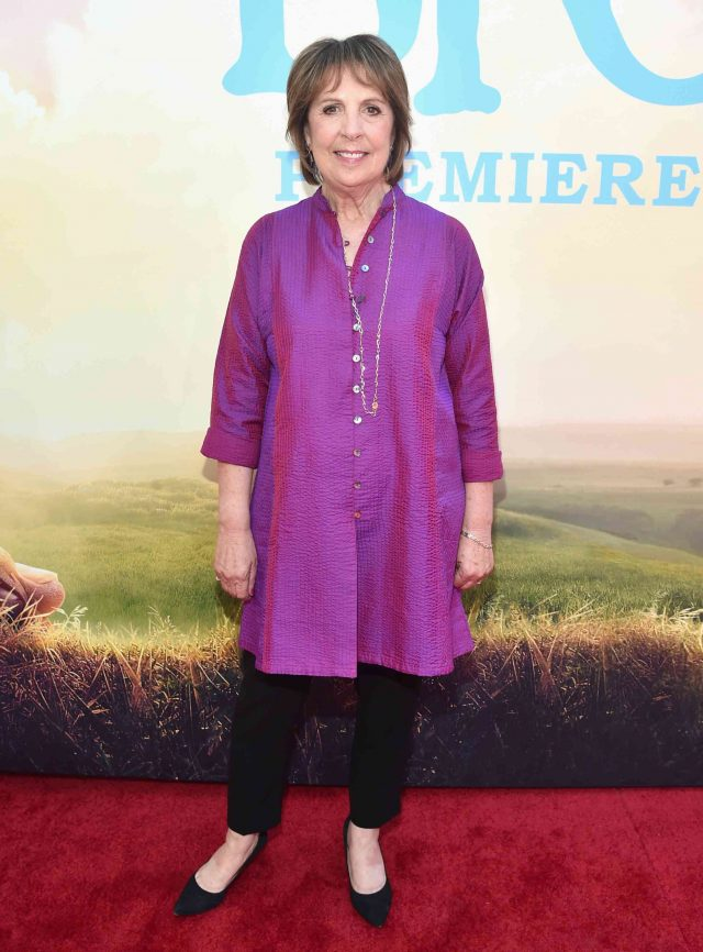 Penelope Wilton at The BFG Movie Premiere Red Carpet
