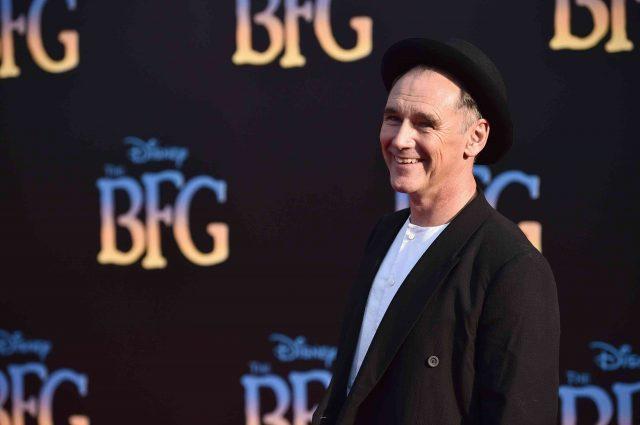Mark Rylance on The BFG Movie Premiere on Red Carpet