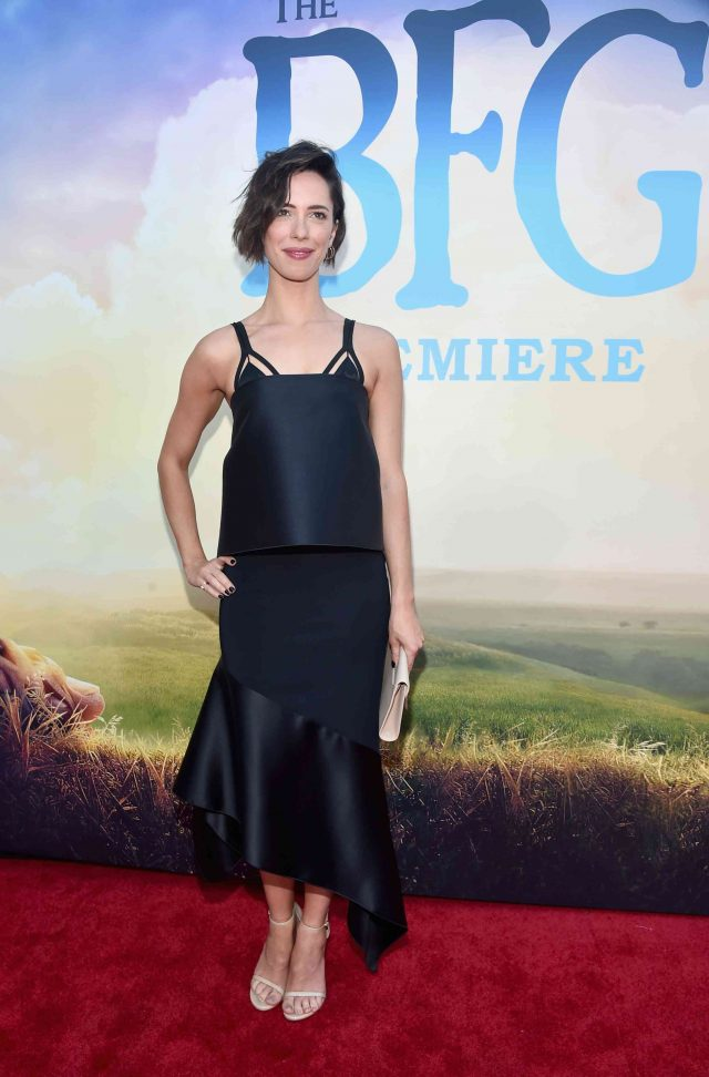 Rebecca Hall at The BFG Movie Premiere on Red Carpet