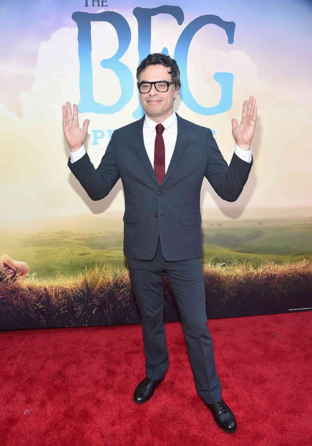 Jemaine Clement on the Red Carpet for The BFG Movie Premiere