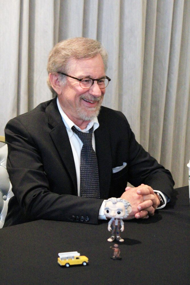 "Interview: Director Steven Spielberg & Ruby Barnhill from Disney's ""The BFG"""