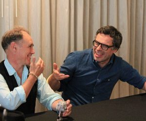 """Interview: Mark Rylance & Jemaine Clement from Disney's """"The BFG"""""""