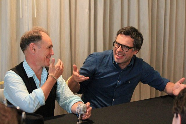 "Interview: Mark Rylance & Jemaine Clement from Disney's ""The BFG"""