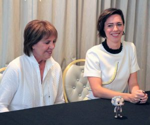 """Interview: Penelope Wilton and Rebecca Hall from Disney's """"The BFG"""""""