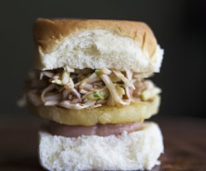 Tropical SPAM Sliders Recipe