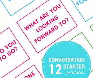Free Road Trip Conversation Starter Cards Printables