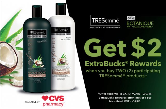 ExtraBuck Rewards: TRESemme Botanique Nourish & Replenish Shampoo and Conditioner